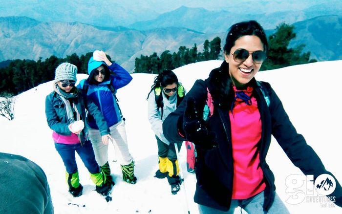 Snow Trek  Nag Tibba