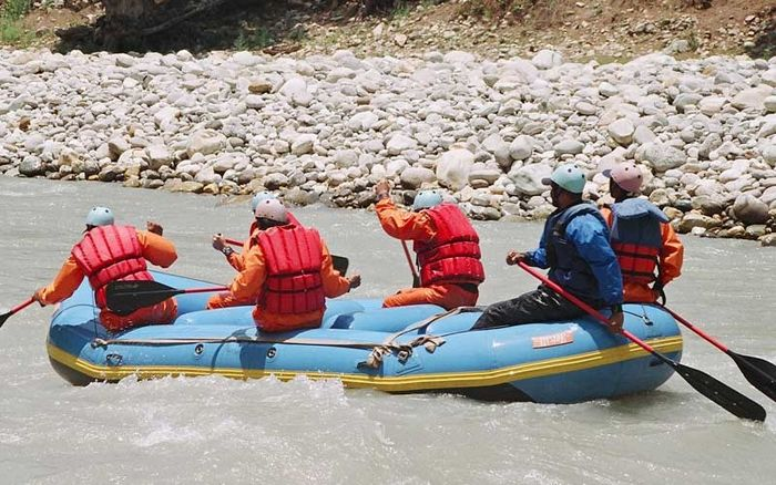 Rafting on Tons (3 Days) (Price on Request)