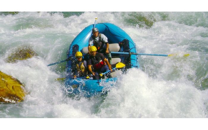 High Action Rafting:  Alaknanda + Upper Alaknanda (3 Days)
