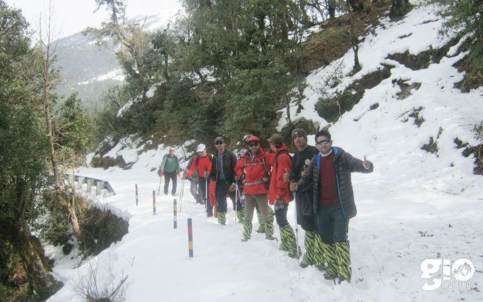 Snow Trek Chopta Chandrashilla Peak with Rafting on Alaknanda  - Youth Adventure