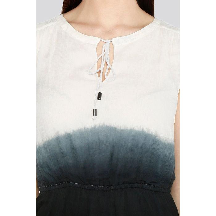 38b475c34bdfd Buy Black Colored Ombre Skater Dress Online | IAMFORYOU