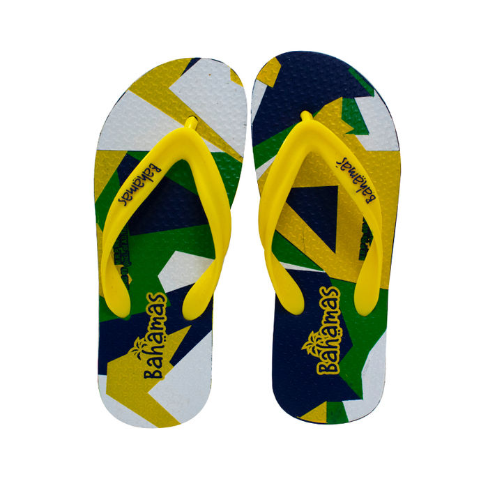 610a0581e9ac bahamas yellow n.blue gents casuals slippers bhg-99