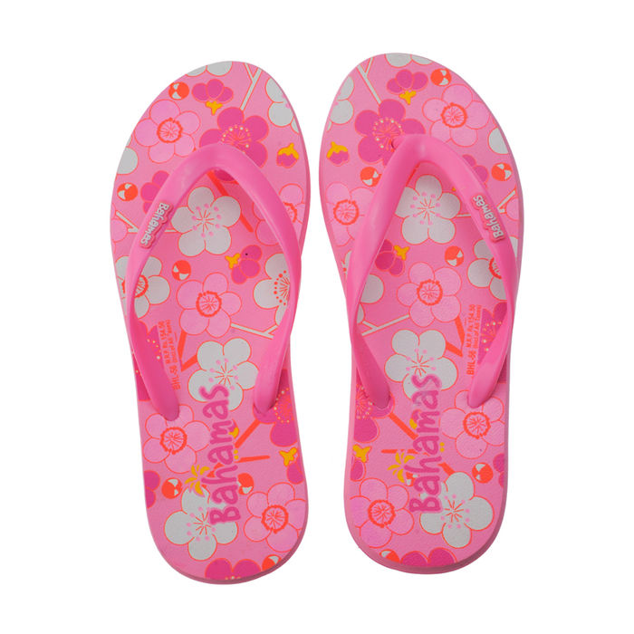 7e65d9fcb5c2f2 Bahamas Pink Ladies Casuals Slippersbhl-56