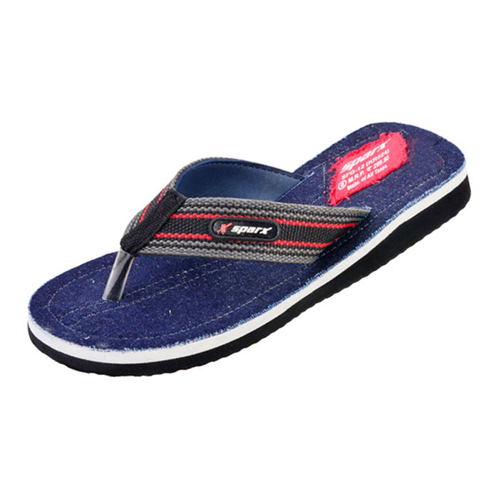 3c03592d4130 SPARX DANIM BLUE GENTS CASUALS SLIPPERS SFG-12
