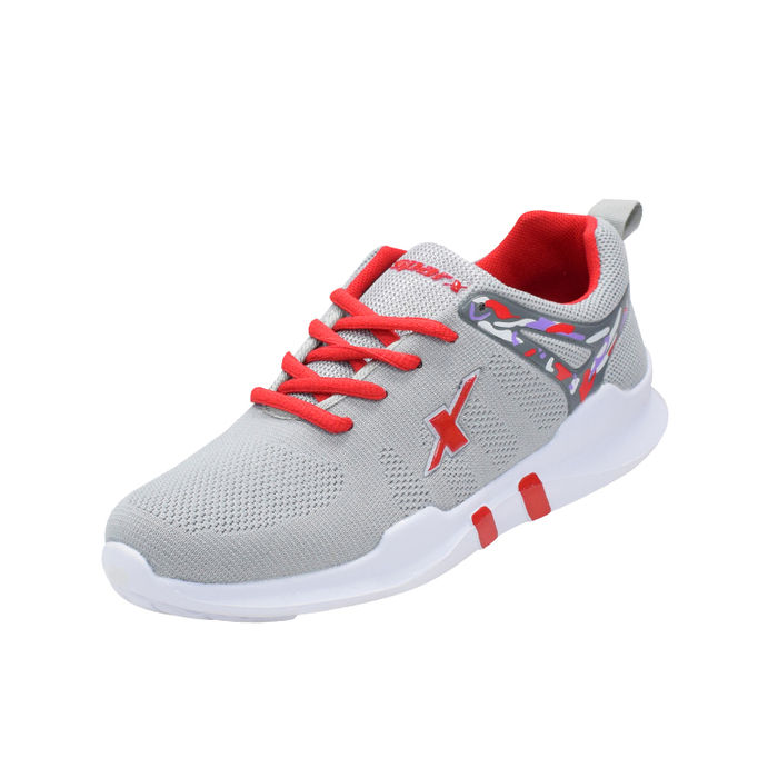 e5656a7d2aaa89 SPARX GREY/WHITE LADIES SPORTS SHOES_SL-132