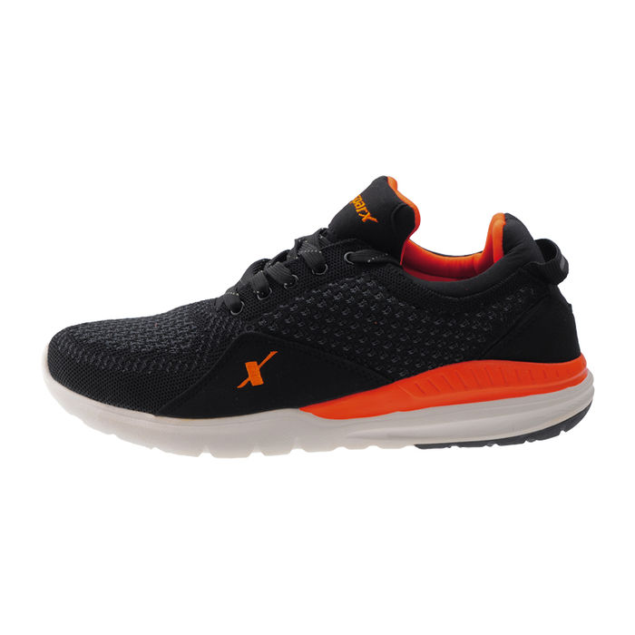5eb7671fa9f ... SPARX BLACK ORANGE GENTS SPORTS SHOES SM-266 ...
