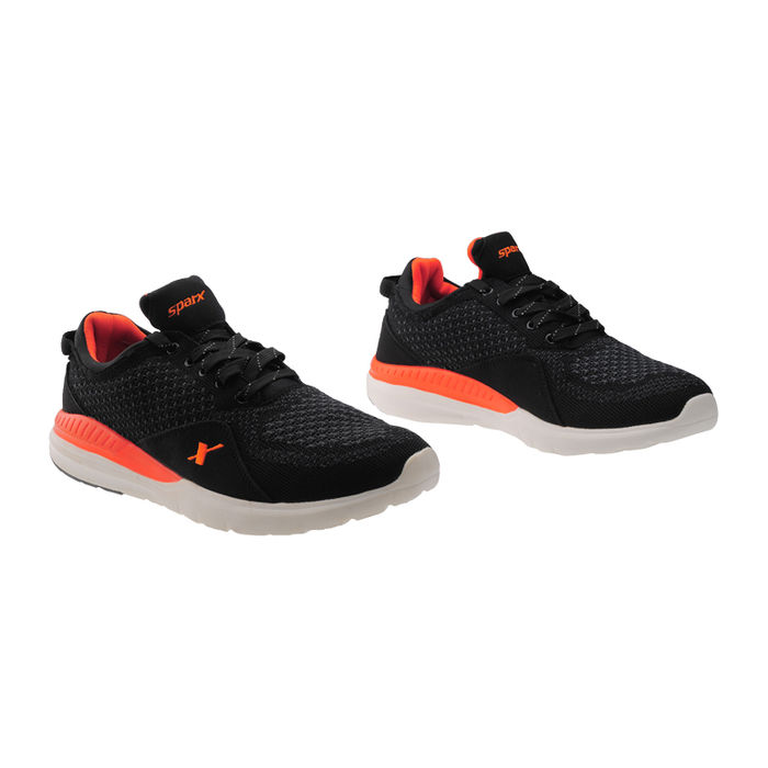 ddbeb65960c ... SPARX BLACK ORANGE GENTS SPORTS SHOES SM-266