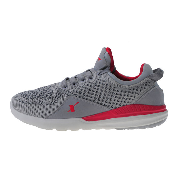 9cba9b11da9 ... SPARX GREY RED GENTS SPORTS SHOES SM-266 ...