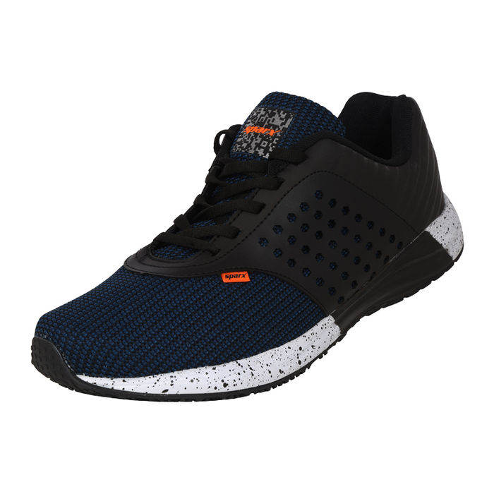 brand new 7d64e 0ce4b SPARX BLACK/N.BLUE GENTS SPORTS SHOES_SM-318