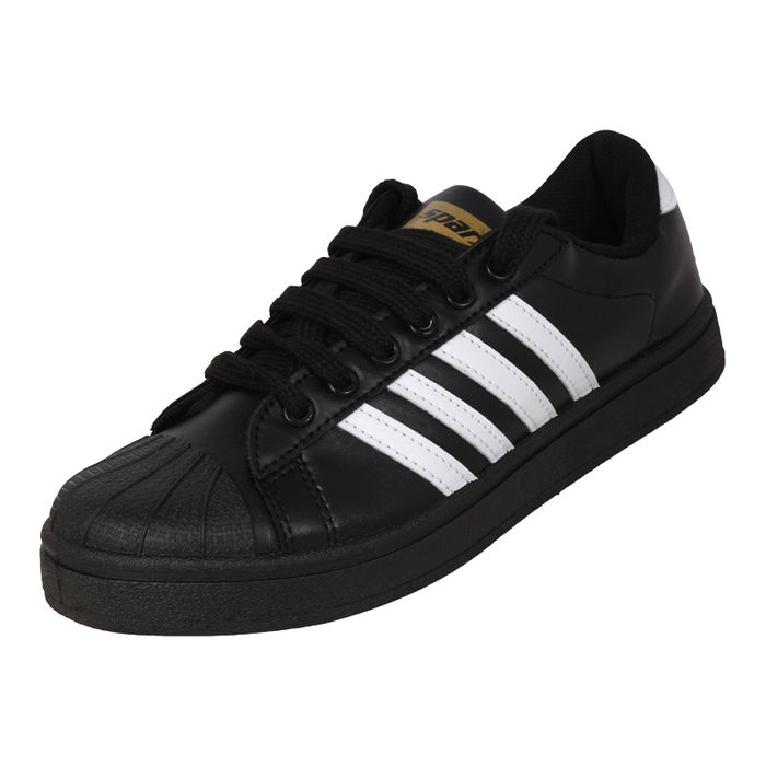 Sparx Blackwhite Gents Sports Shoessm