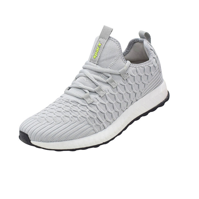 b48dfb0350c1e8 SPARX GREY/WHITE GENTS SPORTS SHOES_SM-434