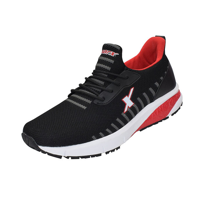 timeless design 3c15b 34fb7 SPARX BLACK/RED GENTS SPORTS SHOES_SM-436