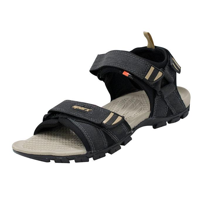5f1bb23fa Sparx Blackbeige Gents Causal Sandalsss-481