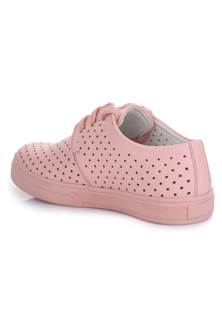 free shipping b4dbe 52319 Bruno Manetti Unisex Pink Sneakers