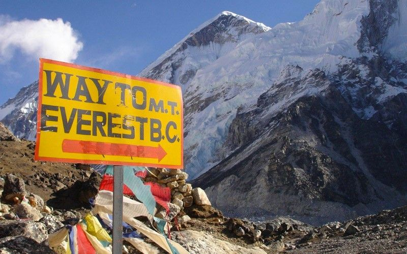 Everest Base Camp Base Camp Everest Mt Everest Base Camp Gio Adventures