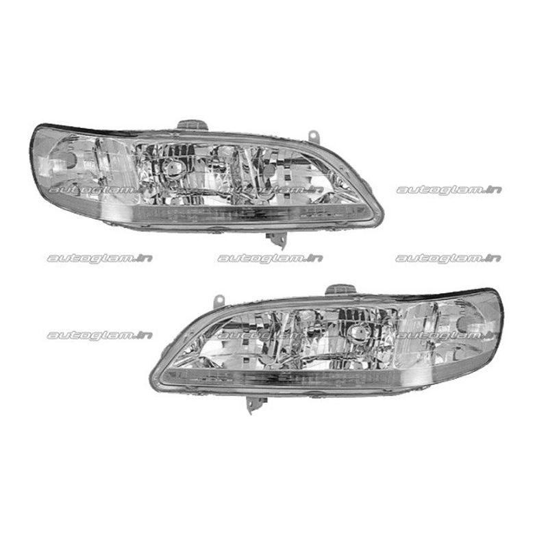 Honda Accord 2000 Car Headlight Assembly Set Of 2 Right And Left