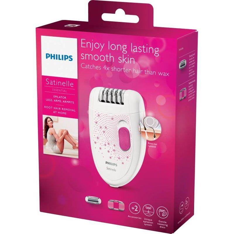 Philips Bre20100 Satinelle Essential Epilator For Women