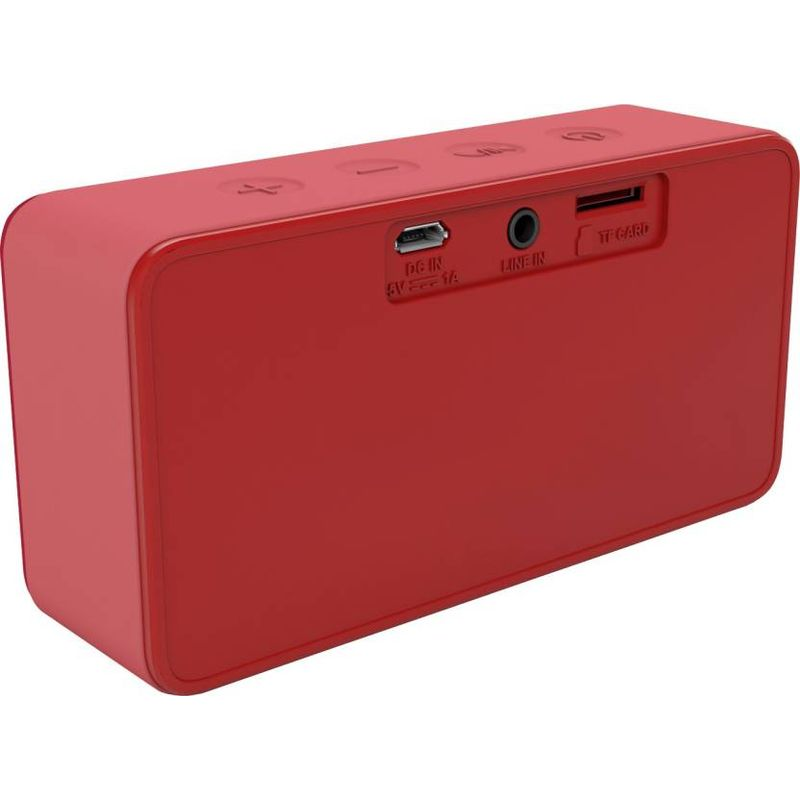 Philips Bluetooth Speaker Portable: Philips Bt64r94 Portable Bluetooth Mobiletablet Speaker Red
