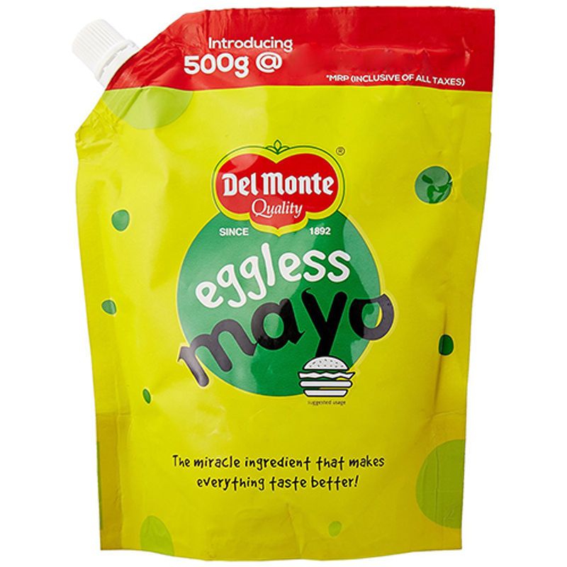 Buy Delmonte Eggless Mayonnaise 500g Online At Best Price With Great