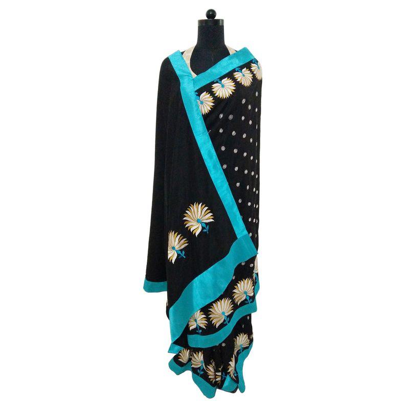 Handloom Heritage Sari Series - Black