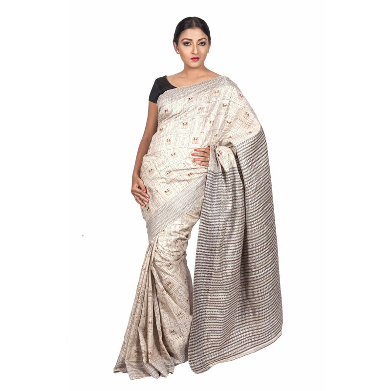 Heritage Series Corporate Tribal Theme Saree
