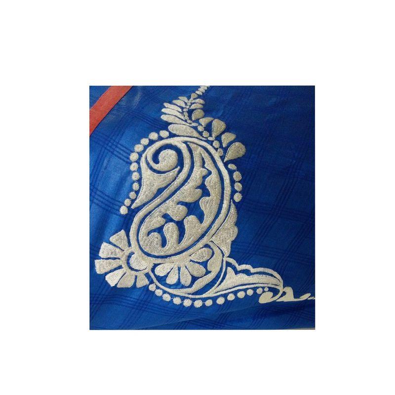 Bengal Alpona Sari Series - Blue