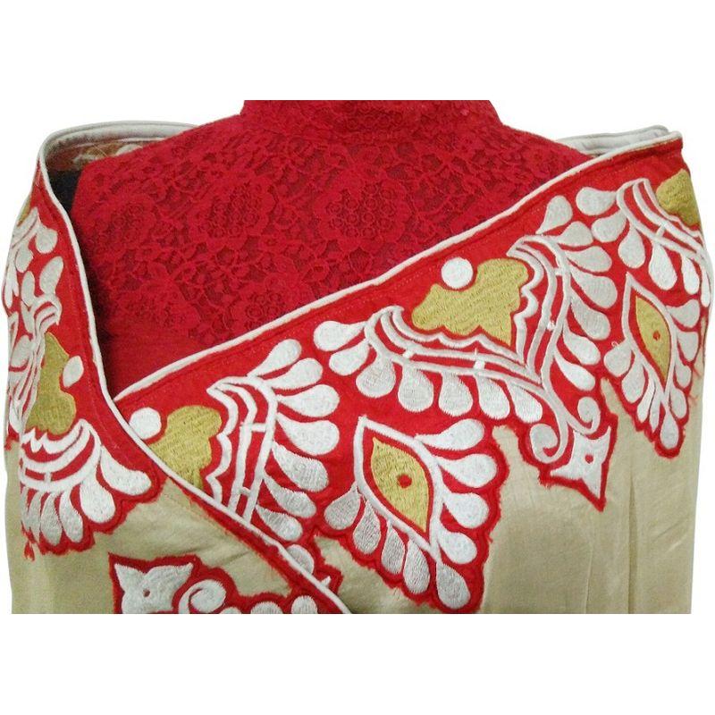 Bengal Alpona Sari Series - Tussar