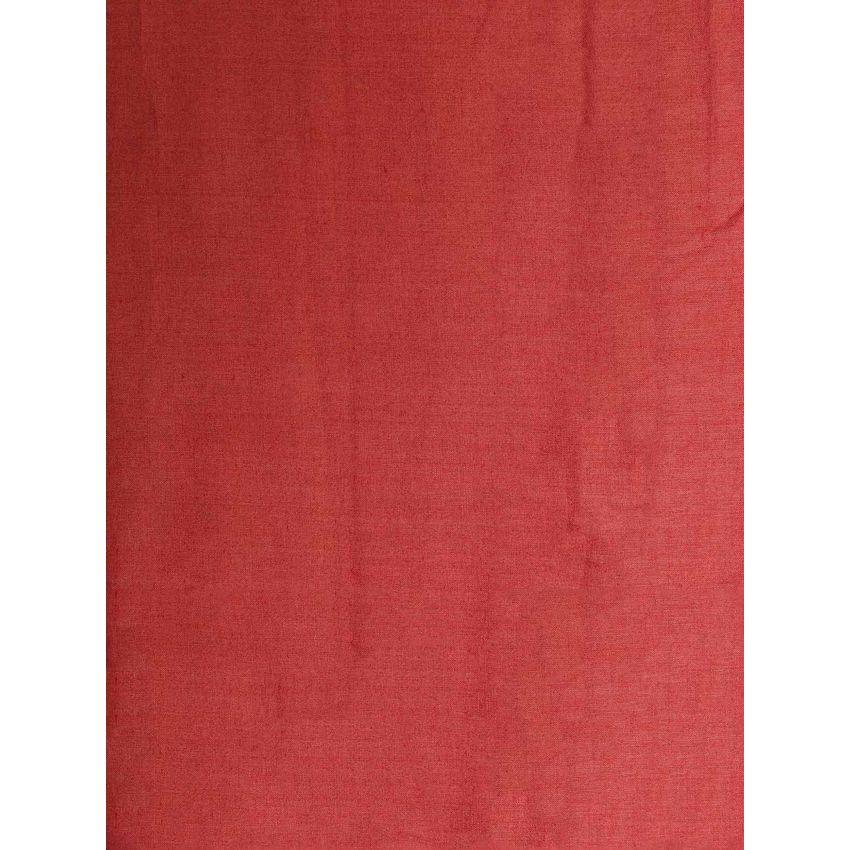 Light Red Cotton Silk Fabric Ia Thyrd17