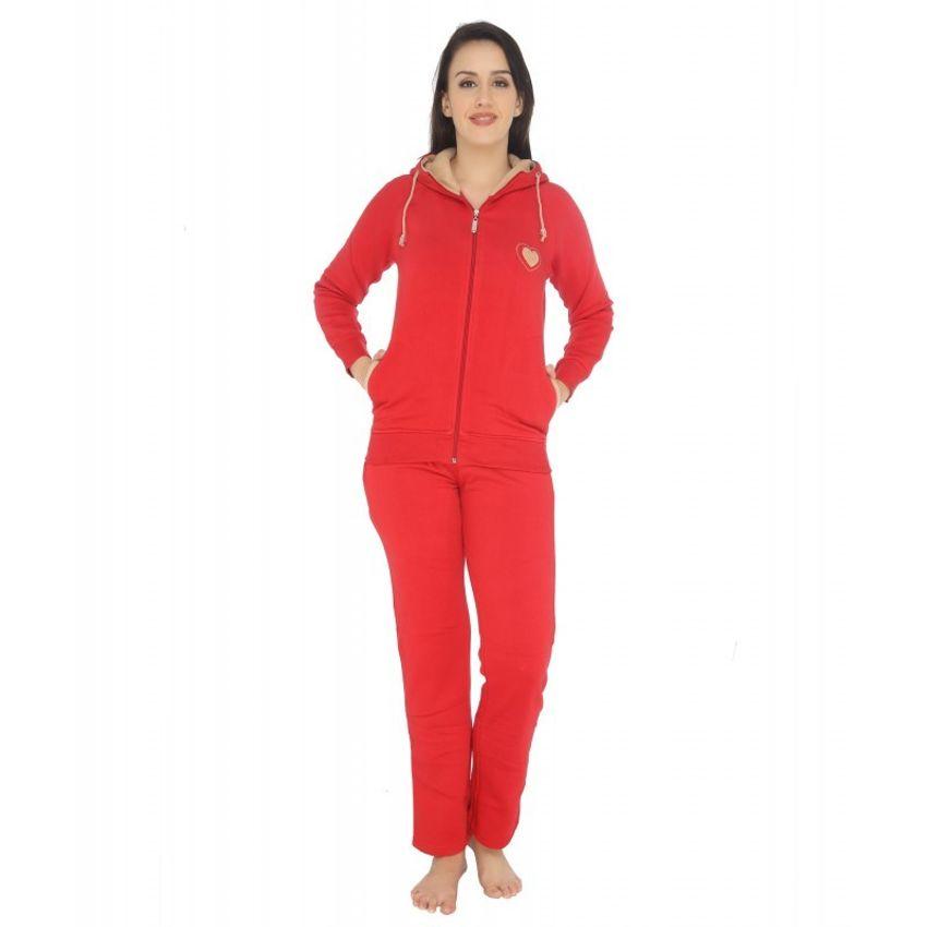 e3c7b9c448 Buy Red Velour Pajama Set Online At Low Price – Intimodo