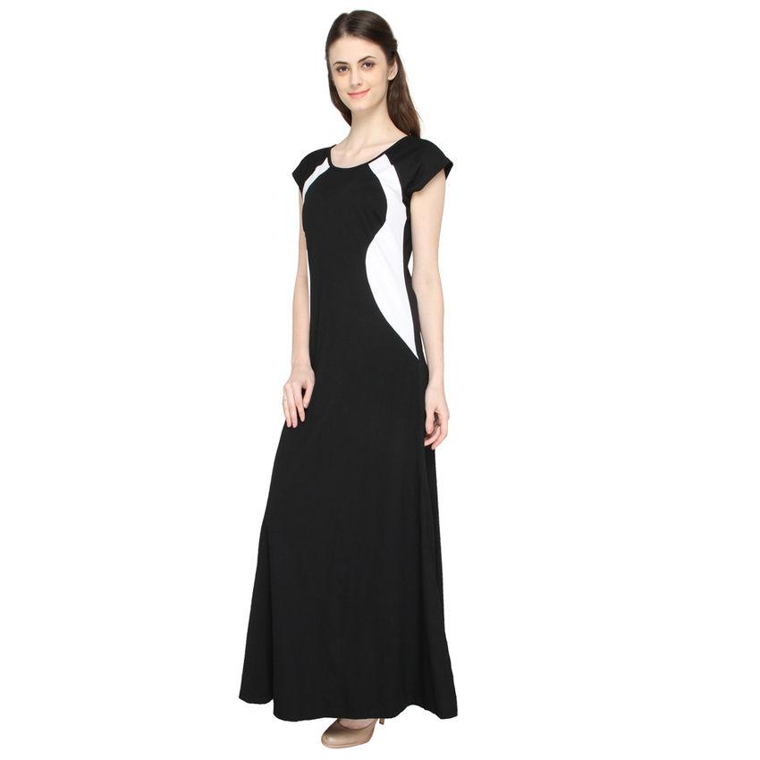 f61f9958bb Black Long dress Front · Black Long dress Side ...