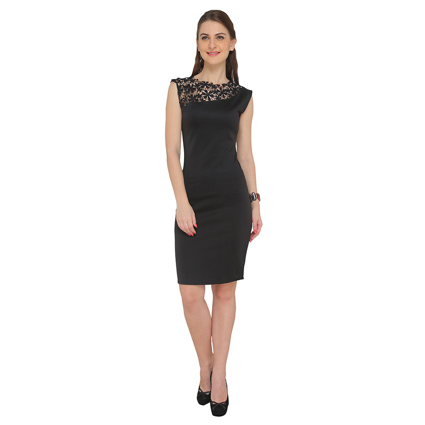 8cbb17424e Elegant Cocktail Bodycon Dress front ...