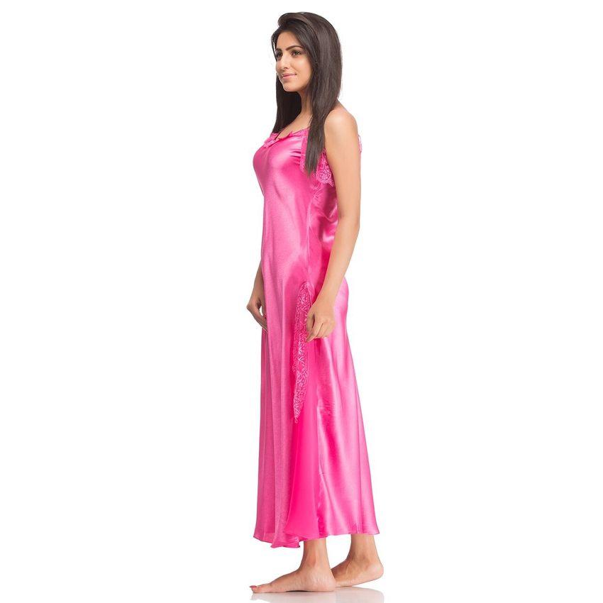 28ef350107 Buy Pink Long Nighty Online At Low Price – Intimodo