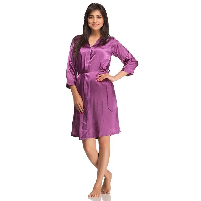 fede17012a Shop Short Nighty Purple Online at Low Price