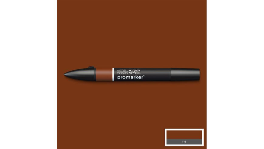 Winsor & Newton ProMarker - Twin Tip; Broad+Chisel - Alcohol Based - Henna