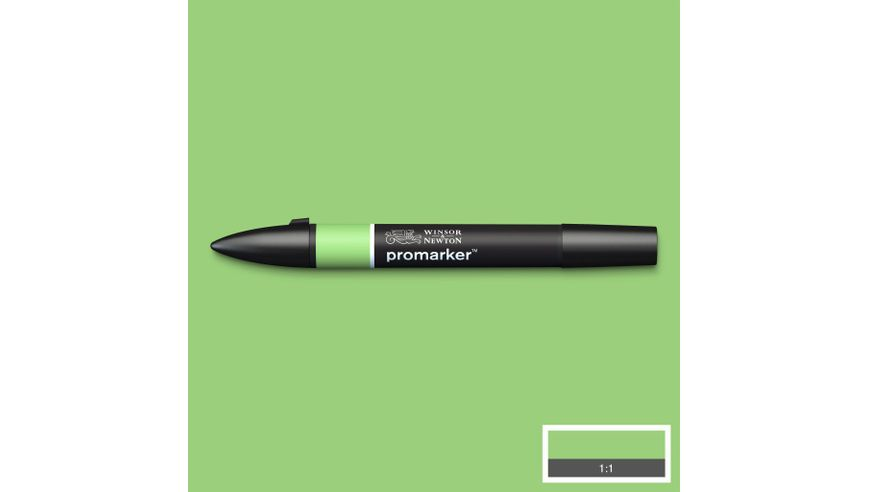 Winsor & Newton ProMarker - Twin Tip; Broad+Chisel - Alcohol Based - Apple