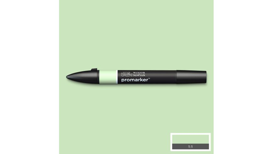Winsor & Newton ProMarker - Twin Tip; Broad+Chisel - Alcohol Based - Meadow Green