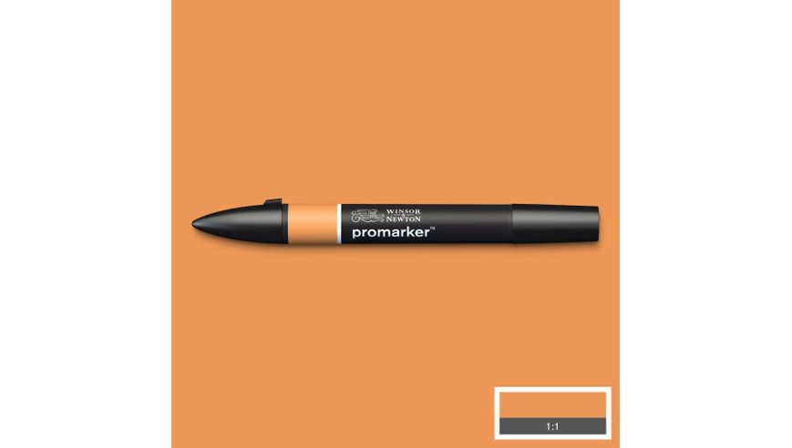Winsor & Newton ProMarker - Twin Tip; Broad+Chisel - Alcohol Based - Ginger