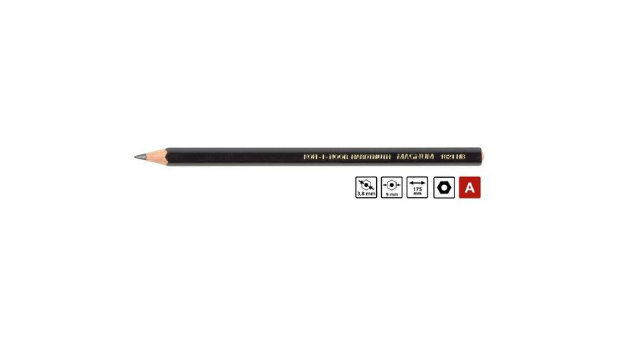 Koh-I-Noor Magnum Black Star Professional Graphite Pencil - HB