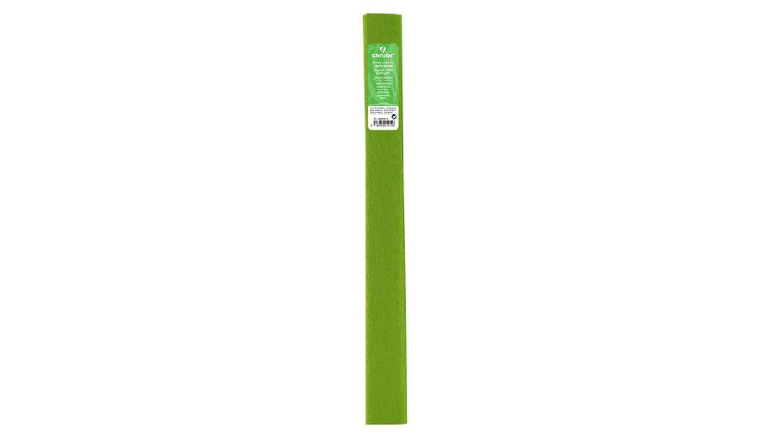 Canson Standard Crepe Paper Roll - 32 GSM, 50 x 250 cm  - Spring Green