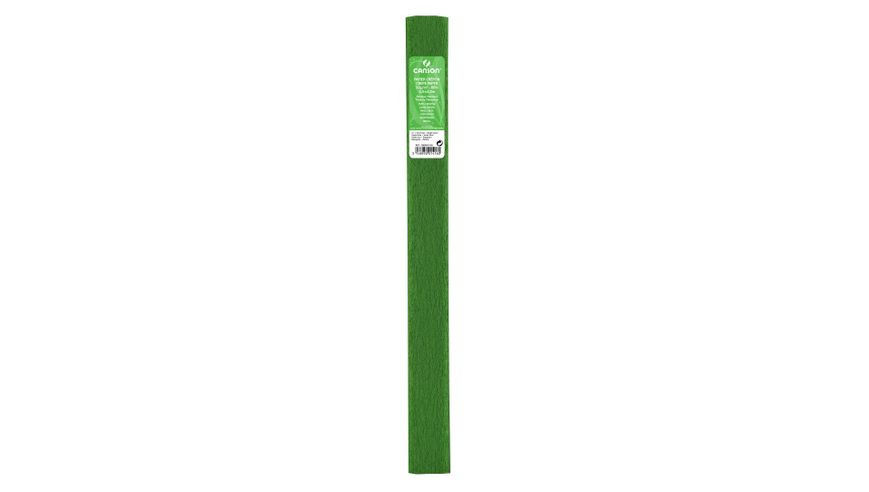 Canson Standard Crepe Paper Roll - 32 GSM, 50 x 250 cm  - Bright Green
