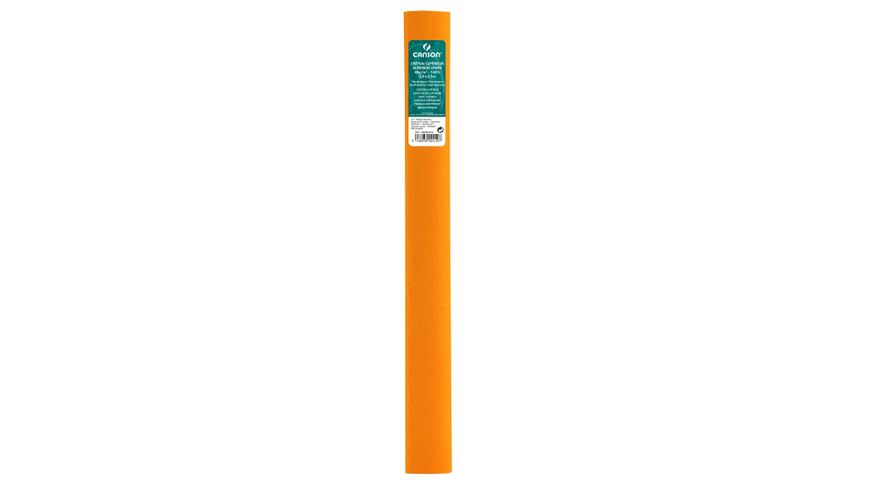 Canson Superior Crepe Paper Roll - 48 GSM, 50 x 250 cm  - Nasturtium Orange