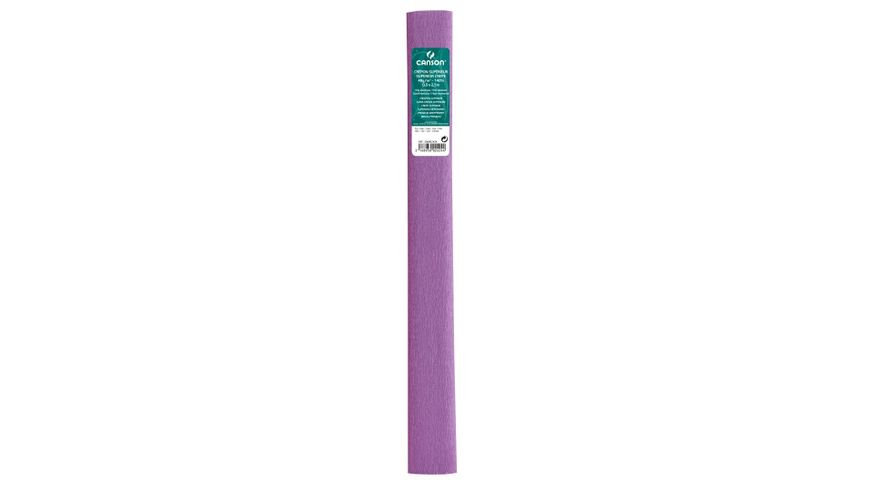 Canson Superior Crepe Paper Roll - 48 GSM, 50 x 250 cm  - Lilac
