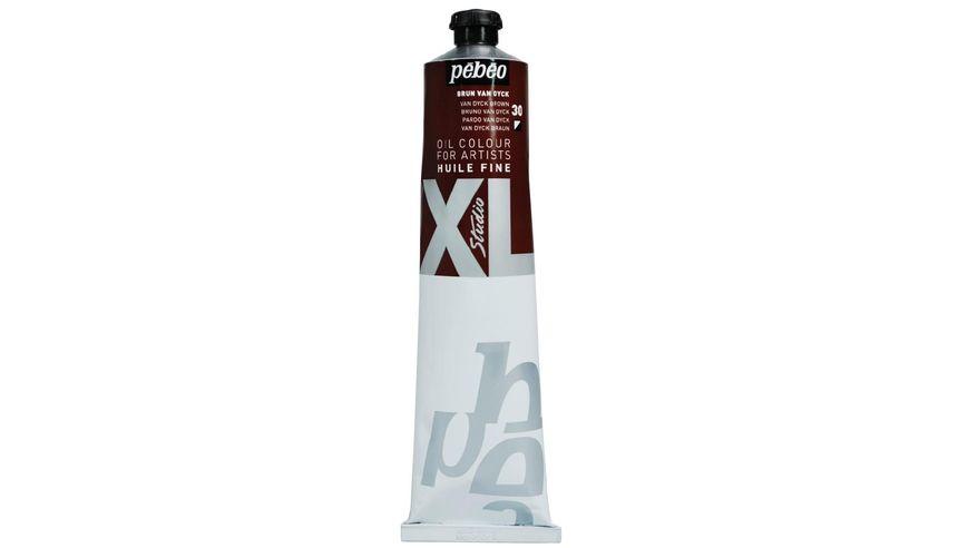 Pebeo XL Fine Oil 200 ML Van Dyck Brown 30