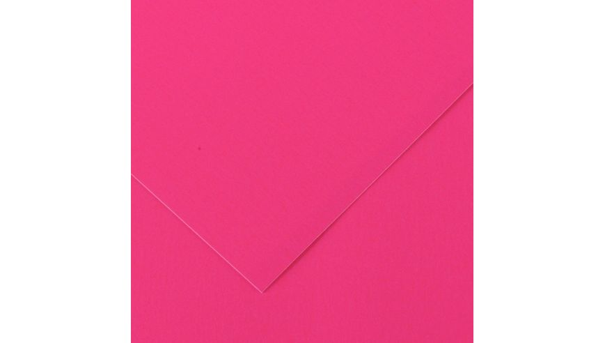 Canson Iris Vivaldi 250 GSM A3 Pack of 5 Smooth Grain Sheets - Fluorescent Pink