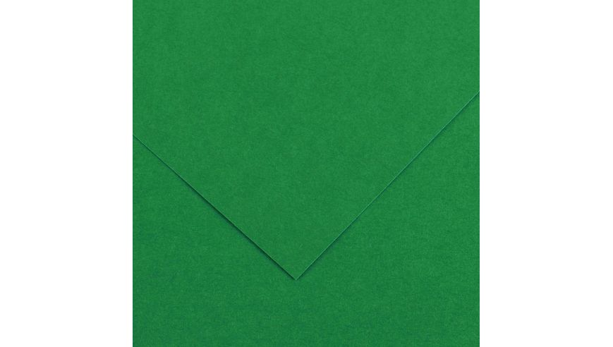 Canson Colorline 300 GSM A4 Pack of 5 Smooth & Light Grain Sheets - Moss Green