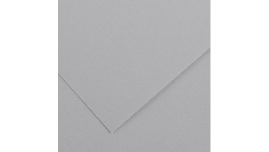 Canson Colorline 300 GSM A4 Pack of 5 Smooth & Light Grain Sheets - Light Grey
