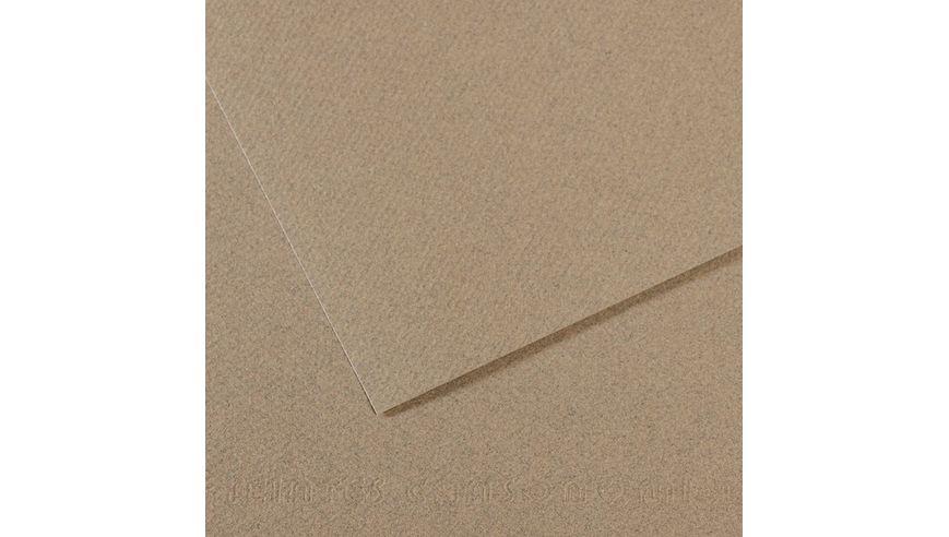 Canson Mi-Teintes 160 GSM 55 x 75 cm Pack of 25 Honeycomb & Fine Grain Sheets - Felt Grey