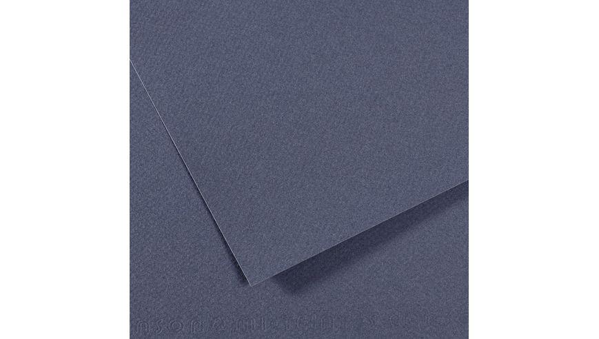 Canson Mi-Teintes 160 GSM 55 x 75 cm Pack of 25 Honeycomb & Fine Grain Sheets - Dark Blue