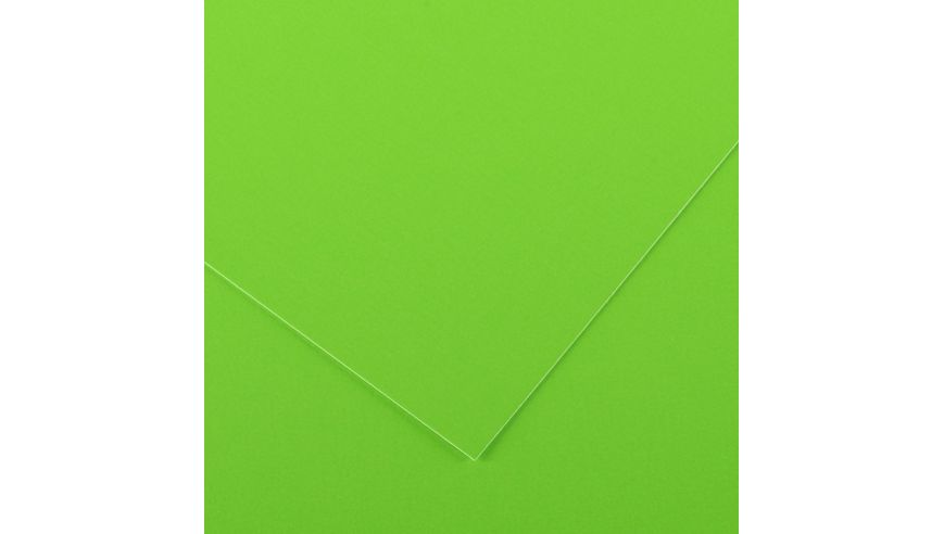 Canson Iris Vivaldi 250 GSM 50 x 65 cm Pack of 25 Smooth Grain Sheets - Fluorescent Green