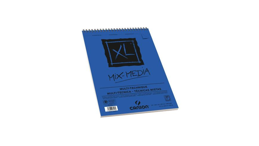 Canson XL Mix Media 300 GSM A3 Album of 30 Medium Grain Sheets